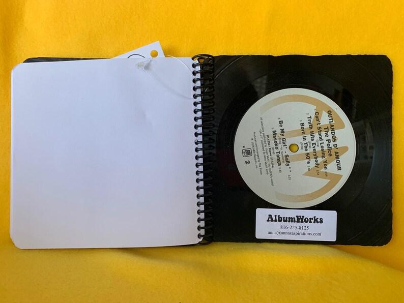 Police 1980 Zenyatta Mondatta /& 1978 Outlandos D/'Amour record book
