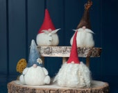 Needle Felted Tomte Gnome