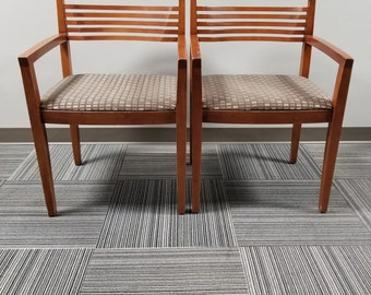 Pair of Knoll Ricchio chairs
