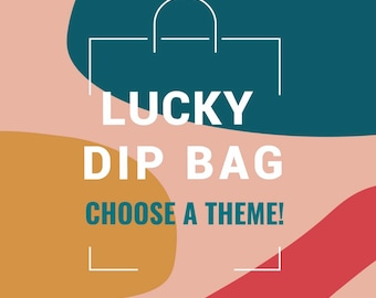 Lucky Dip Bag | Large Mystery Goody Bag | Grab Bag | Gift Idea For Her | Mixed Jewellery | Stocking Filler | Minimalist | Choose Theme