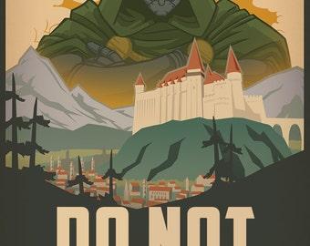 Dr. Doom PSA Poster