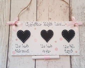 Personalised Weightloss board, weight loss chalkboard, Weightloss plaque, New Years resolution, slimming world, Weight tracker,