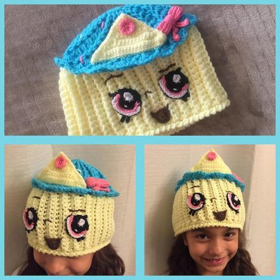 Queen Cupcake Shopkins Crochet Hat Pattern Etsy