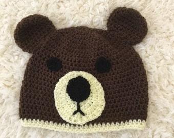 314e0092afd Kid s animal gift Hat - Children s Animal Hat -crochet children s  accessories -children s clothing - Gift For Children - kid s accessories