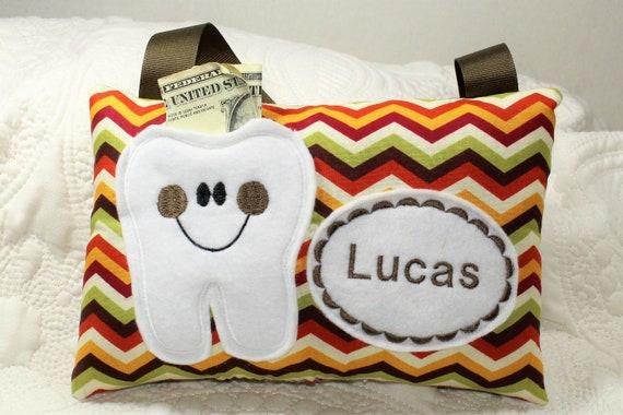 3859f4715ca0e7 Tooth Fairy Pillow Tooth Fairy Pillow Boys Tooth Fairy