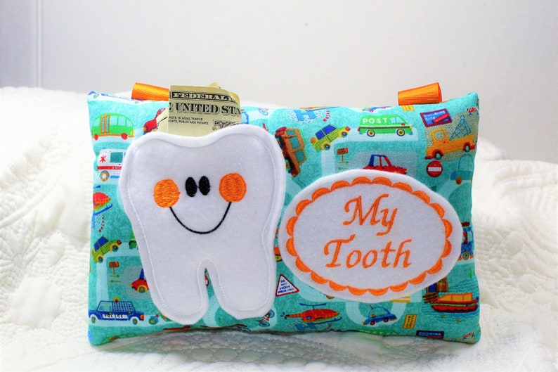 bd0326e22eebd1 Tooth Fairy Pillow Boys Tooth Fairy Pillow Personalized