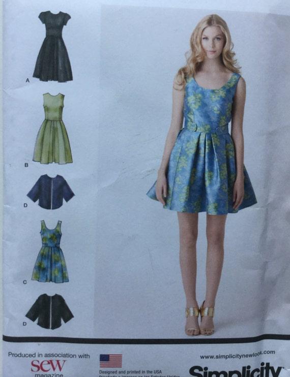 Sewing Pattern Evening Dress Cynthia Rowley Dress Pattern Etsy