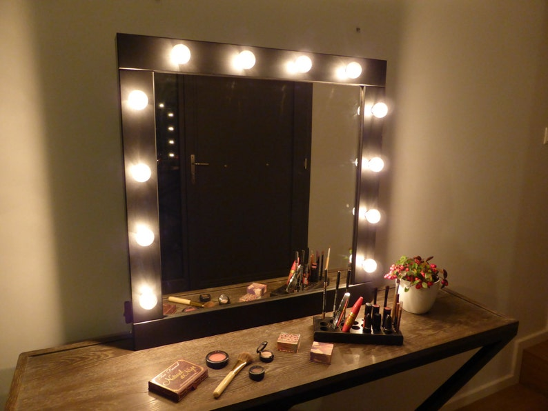 Vanity Mirror With Lights Makeup Mirror Wall Hanging Or Etsy