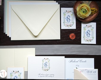 Tying the Knots Paper and Envelope Sample Package
