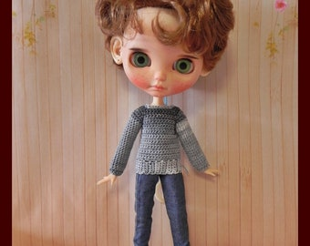 Jersey for Blythe with jointed body (male and female)