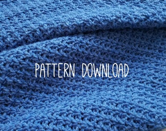 V Stitch Crochet Lapghan/Baby Blanket *PATTERN DOWNLOAD ONLY*