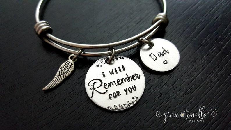 6f82f79bb8b Alzheimer Memorial Bracelet Dementia Awareness Jewelry | Etsy