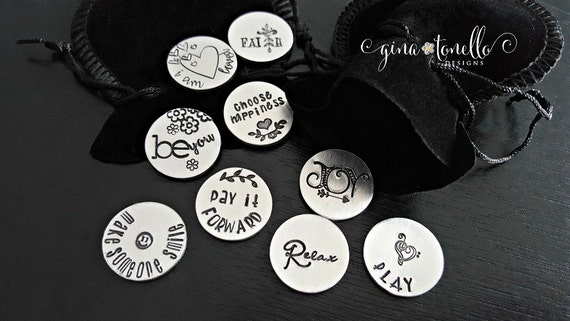 Get Well Great Personalised Gift Send Some Good Luck Pocket Token