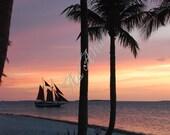 Key West Florida Sunset Skyscape