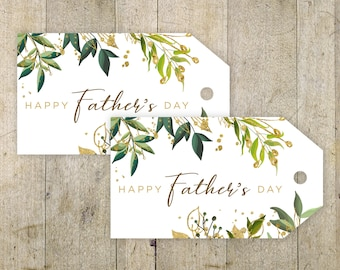 Father's Day Printable Tag Happy Fathers Day Tag Gift Tag Fathers's Day Tag Gift Instant Download