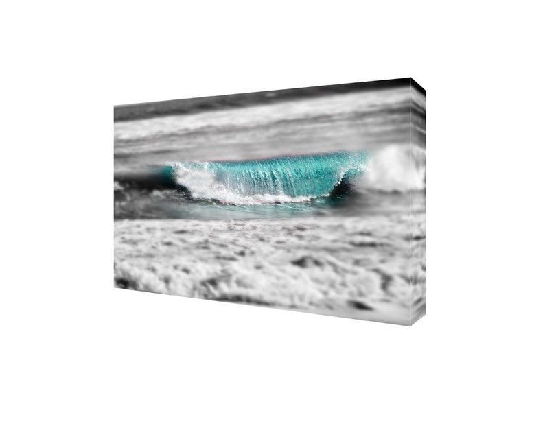 Beach house wall art Canvas Gallery Wrap nautical decor image 0
