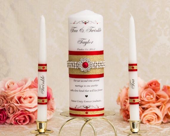 Goldene Hochzeit Einheit Kerzen Set Rot Und Gold Hochzeitskerzen Personalisierte Hochzeit Kerzen Set Rote Und Gold Kerzen Hochzeitsgeschenk