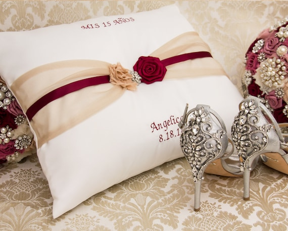 Reserved listing for Reina Personalized Quinceanera Pillow