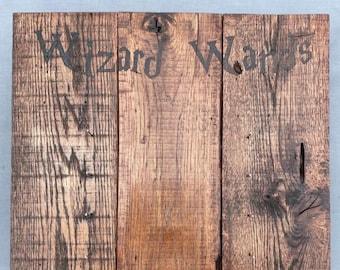 Wizard Wand Stand - Wizard Wand Storage - Wizard Wall Decor - Wand Wall Decor