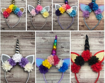 Unicorn headband - Unicorn Horn - Unicorn COSPLAY - Unicorn Attire - Unicorn Accessory - Unicorn Party Favor - Unicorn Costume