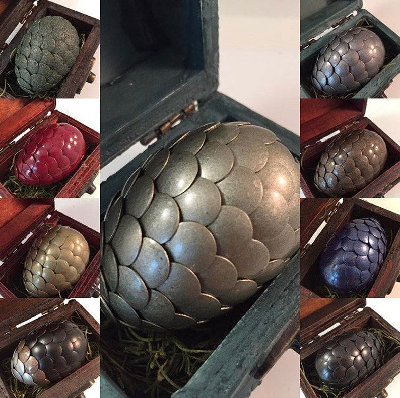 MYSTERY Dragon Egg with Box  SURPRISE Dragon Egg with Chest  image 0