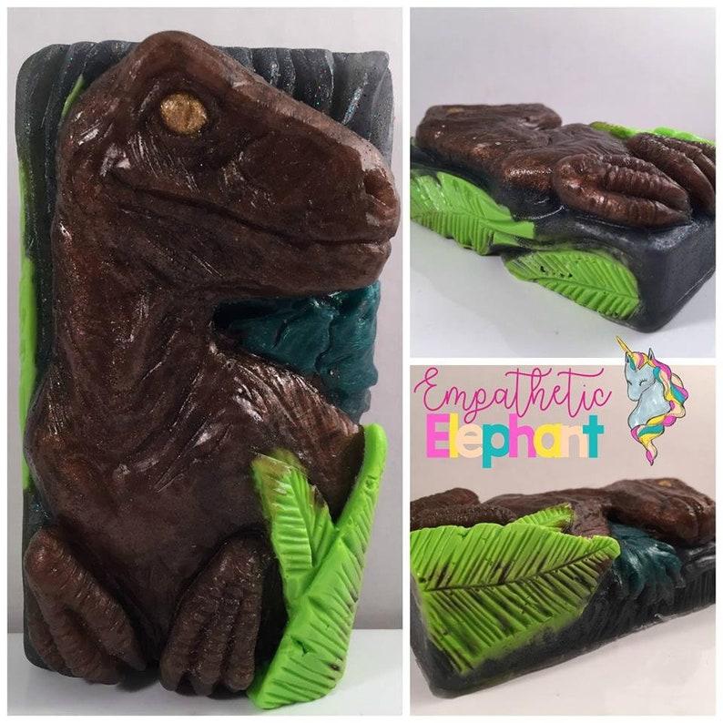Raptor Soap / Dinosaur Soap / 5 oz Soap / Glycerin Soap / image 0