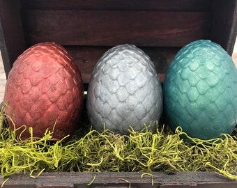 Dragon Egg Soap / Dragon Eggs Soap Set / 5 oz Soaps / Dragon Soap / Geek Soap / Party Favor / Egg Soap / Gamer Soap / Gift Set