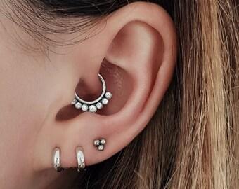 220963fe4152c 5mm hoop earrings | Etsy