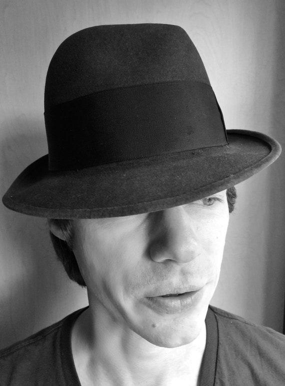 Stetson Fedora Hat   Vintage Men s or Women s Felt  3a179b34d694