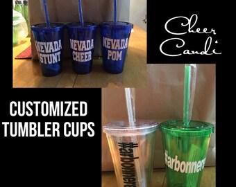 Customized Tumbler Cup