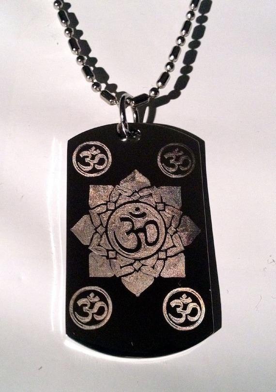 Hindu Om Aum Lotus Flower Meditation Religion Religious Logo Etsy