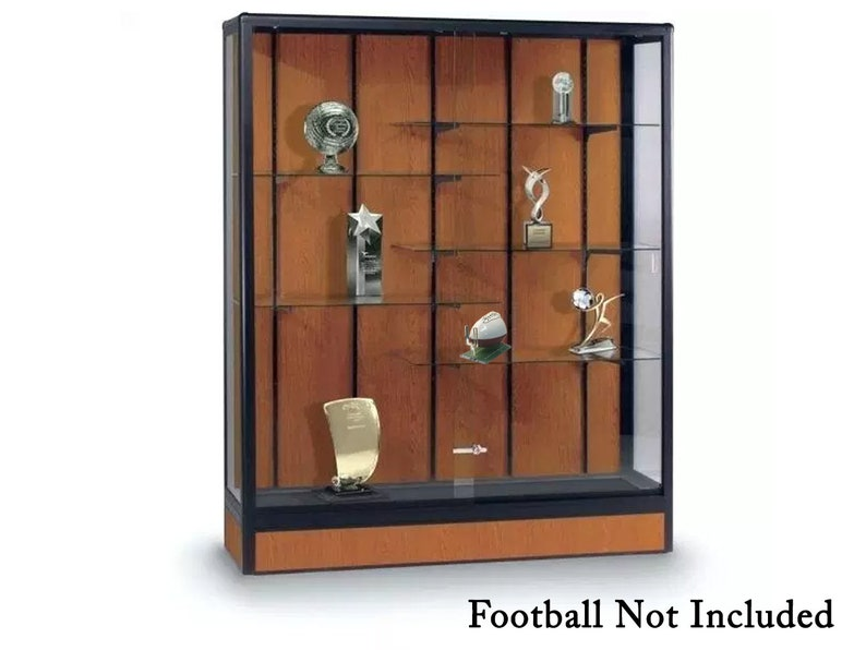 Acrylic Mini Football Stand 3D Color Printed Display Athletic Unique Field Case