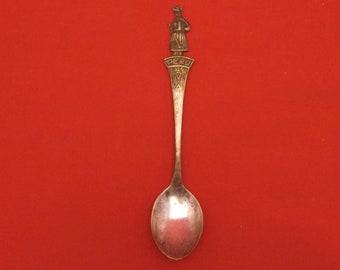 Tiny Peruvian Salt Spoon with Llama