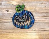 Jack-o'-lantern Pumpkin Mosaic