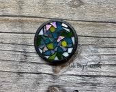 Forget me not Mosaic Glass Magnet