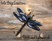 Dragonfly magnet glass mosaic