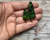 Mini Tree  -Glass Mosaic Magnet