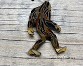 Sasquatch glass mosaic