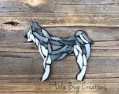 Malamute/ Siberian Husky Mosaic