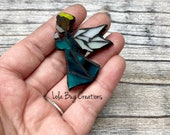 Mini Angel- Glass Mosaic Magnet