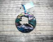 State of Alaska glass Mosaic