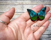 Mini Butterfly  -Glass Mosaic Magnet