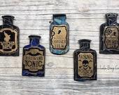 Poison Bottle Mosaic