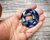 Mini Cut out Alaska   -Glass Mosaic Magnet