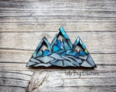 Mountain Glass Mosaic