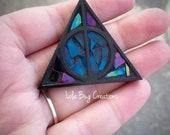 Mini Mosaic Deathly Hallows Harry Potter Magnet