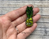 Mini Pineapple  -Glass Mosaic Magnet