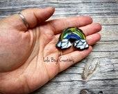 Mini Rainbow  -Glass Mosaic Magnet