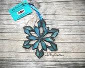 Snowflake Mosaic Ornament