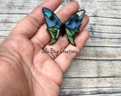 Mini Butterfly- Glass Mosaic Magnet